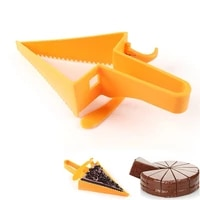 birthday party accessories slicer cake portion marker pie cake divider cutter adjustable cake stand baking tools