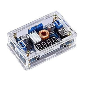 5A Constant-Voltage Constant-Current DC-DC Adjustable Step-Down Voltage Regulator Power Supply  Drive Lithium Battery Charging