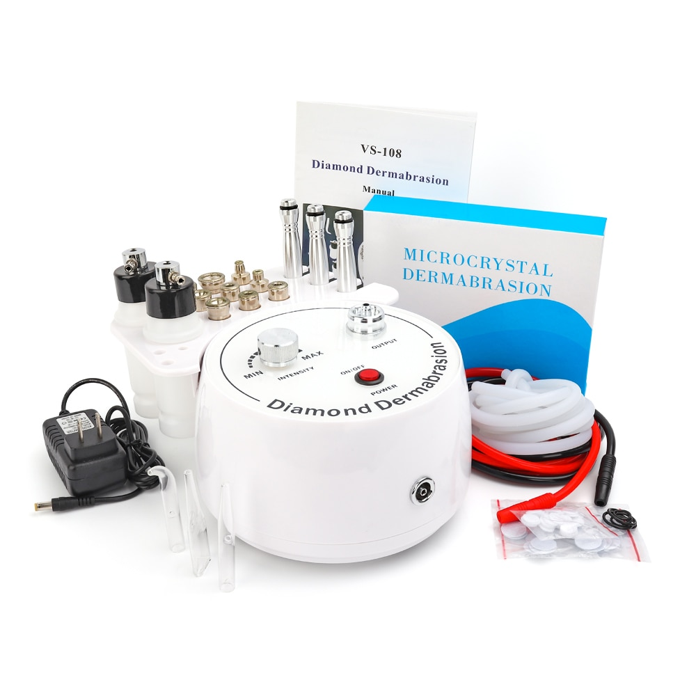 Diamond Microdermabrasion Dermabrasion Machine Water Spray Exfoliation  Wrinkle Facial Peeling Device Beauty Machine Face Care