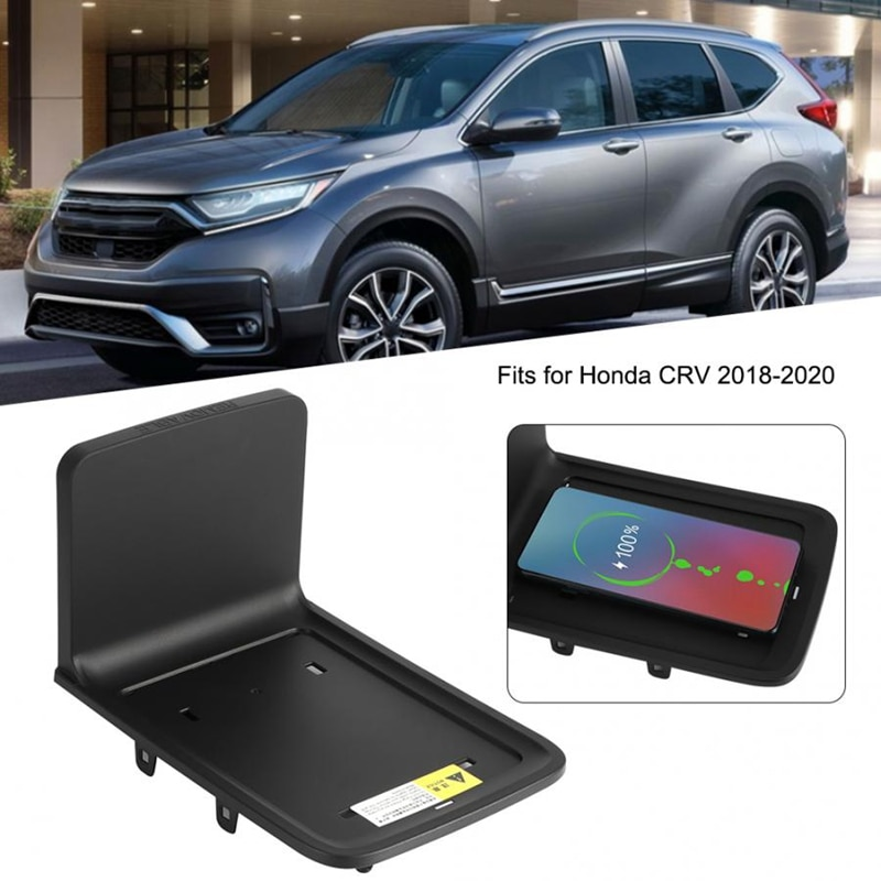 10W Car Wireless Charger, For Honda CRV 2017 2018 2019 2020 2021 Phone Charging Pad Armrest Phone Holder