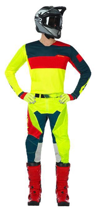 ONE MX Racing Element Factor Neon motocross dirt bike Offroad gear Jersey Pants Combo