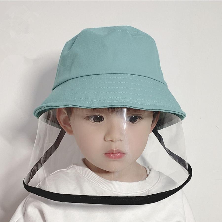Детские анти-противотуманные ковшовые шляпы унисекс для путешествий на открытом воздухе пыленепроницаемые рыбацкие шапки Chlid windprrof Защитн...