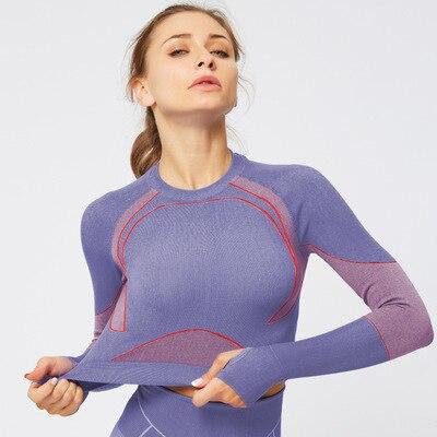X-HERR Seamless Activewear Push Up Yoga Bra Workout  Fitness Women Gym Crop Top Yoga Sets Training Suit