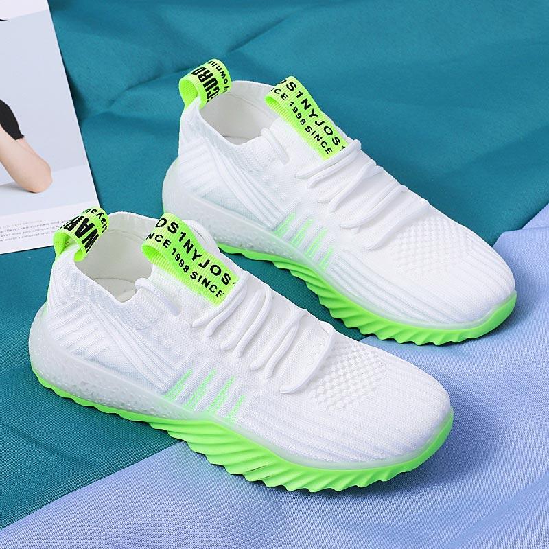 Летние дышащие кроссовки, женская спортивная обувь, спортивные женские кроссовки для бега 2019, белые женские кроссовки для фитнеса, тенниса, ...