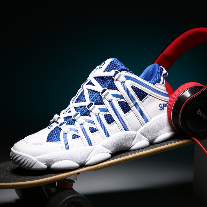 2021 New Men's Shoes High-top Shoes Trend Men's Sports Casual Shoes Sneakers Running Shoes Breathable