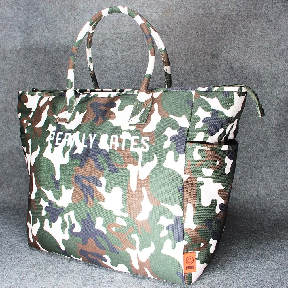 Fashion Women Handbag Golf Clothing Bag Large Capacity Storage Package Camouflage  Canvas Composite