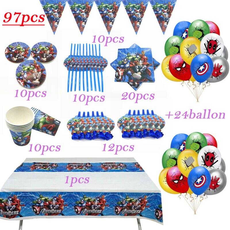 conjunto-de-decoracion-para-fiesta-de-nacimiento-de-los-vengadores-set-de-bandera-de-taza-con-pajita-mantel-suministros-para-ninos-globo-regalo-97-uds