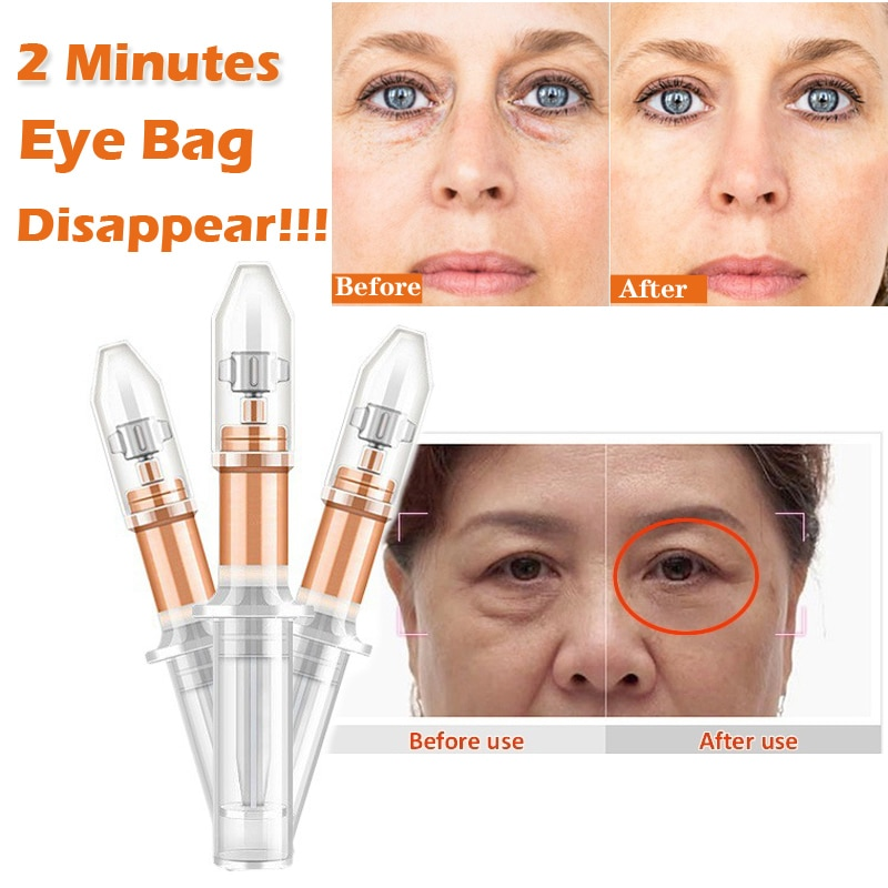 2 Minutes Instantly Eye Bag Removal Cream Long Lasting Effect Puffiness Wrinkles Fine Lines Remove E