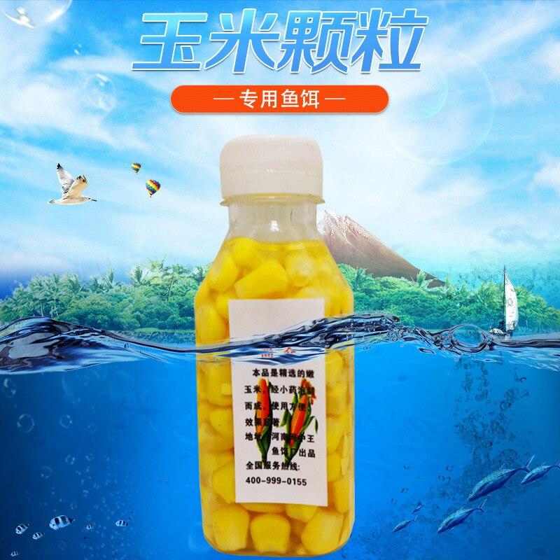 Grandes cosas solo cebo de pesca de maíz sabor almizclero embotellado calidad seguridad uso asegurado