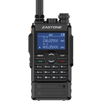 Zastone M7 double bande 5W talkie-walkie 136-174 400-480mhz 250 canaux 2600mah batterie hf émetteur-récepteur radio jambon