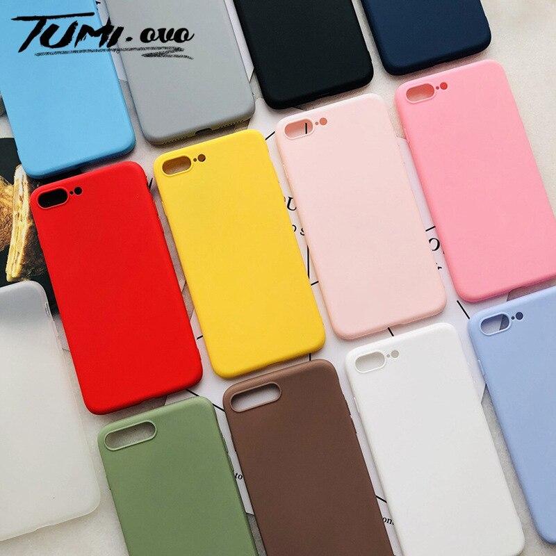 Nova Doce Soft Case de Silicone para Samsung Galaxy A10 A10S A20 A30 A30S A40 A50 A70 A80 S8 S9 S10 Plus S10E A6 A7 2018 Capa Mole
