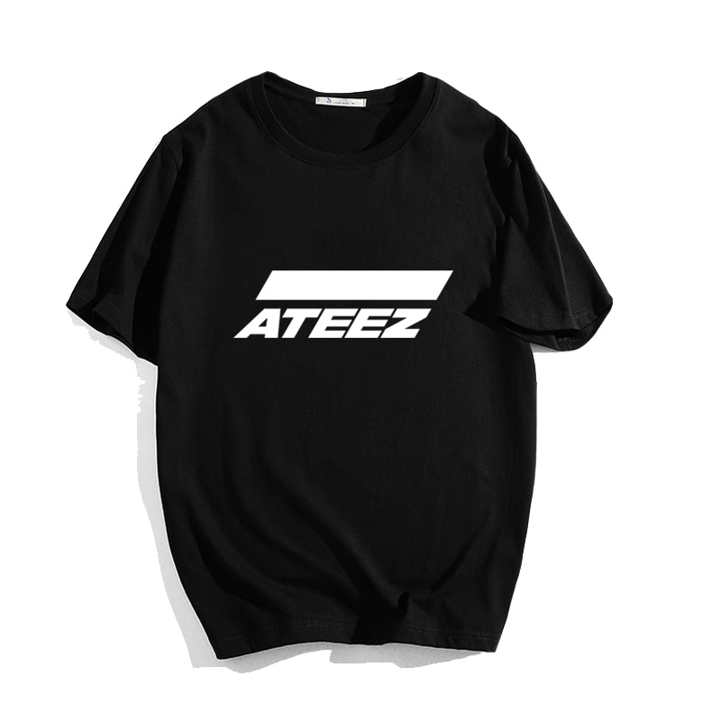 ATEEZ T-shirt tshirt Tops Hongjoong Seonghwa Yunho Yeosang San Mingi Wooyoung Jongho ATEEZ A TEEnager Z Modal Soft