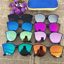 Kids Sunglasses Fashion Mirrored Sports for Boys Girls Age 3-12, Toddler Children UV400 Sun Glasses