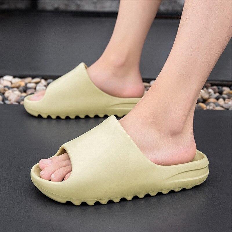 Comply Couple Shoes Women Thick Platform Slippers Men Summer Beach Eva Soft Sole Slide Sandals Ladie