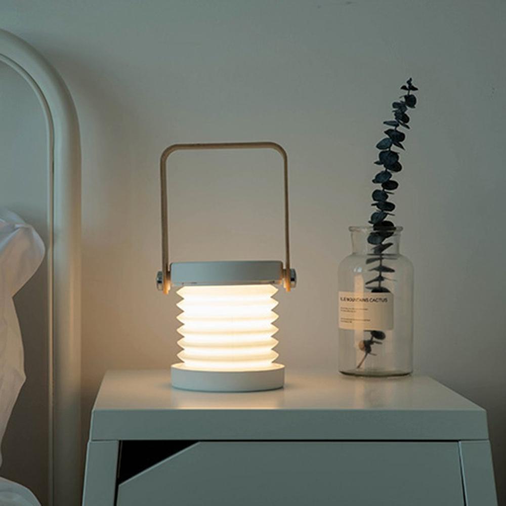 Lámpara LED de noche plegable y regulable, recargable vía USB, para niños, ideal como regalo