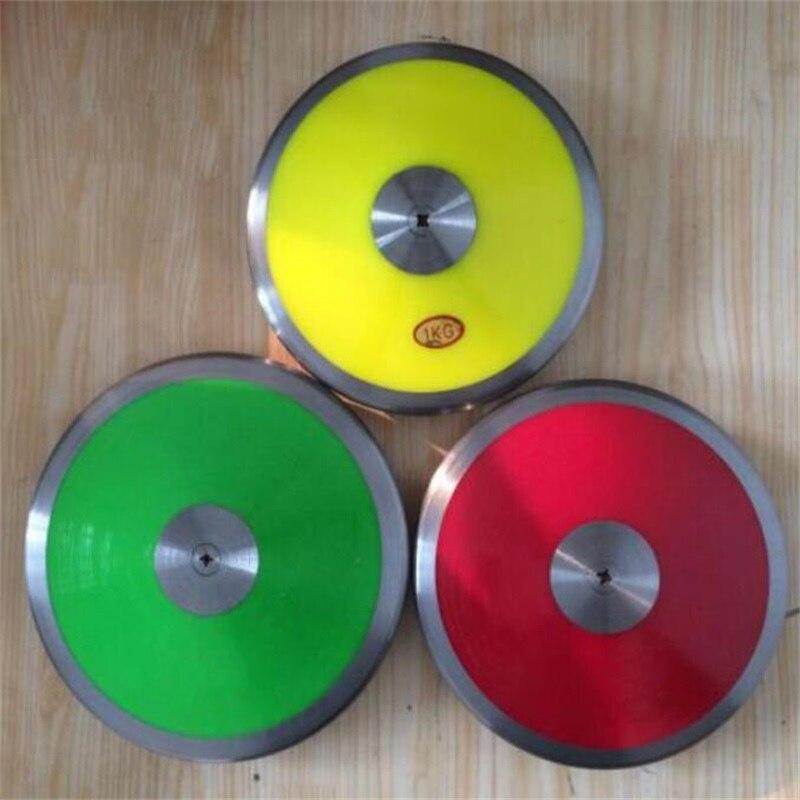 Venta al por mayor 1kg de nailon sólido disco Fitness disco lanzamiento