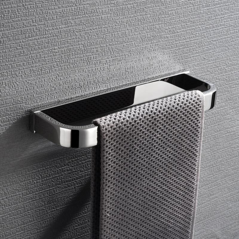 Sus304 حمام من الفولاذ المقاوم للصدأ حلقة المنشفة رف منشفة معلقة صغيرة الوجه غسل منشفة اليد رف الأجهزة الحمام قلادة Zotobon