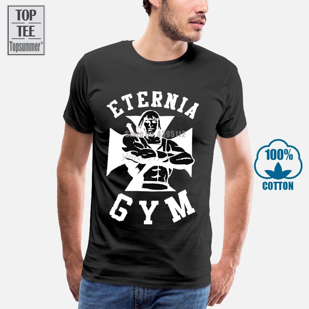 Camiseta de algodón para hombre he-man Masters Of The Universe Eternia con licencia para adultos