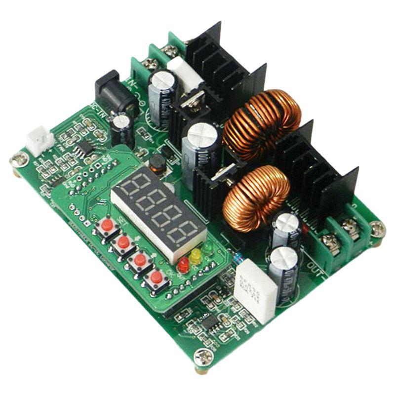 Понижающий модуль источника питания постоянного тока P82F D3806 CNC, плата амперметра напряжения 10-40 В до постоянного тока 0-38 в