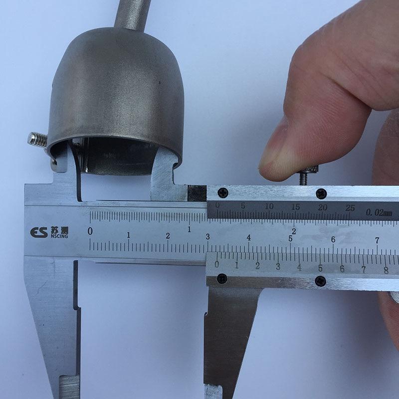 4pcs Speed Welding Nozzles 5mm Speed Weld Tip For PVC Plastic Welder for Welding Soldering Supplies