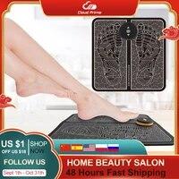 electric foot massager mat massageador electroestimulador muscular health care relaxation terapia fisica saude massage ems tens
