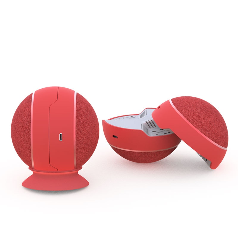TWS BT2026 Bluetooth Spherical Speaker Stereo Magnetic Suction 2-in-1 Sound Portable Computer Audio Outdoor Built In Battery enlarge
