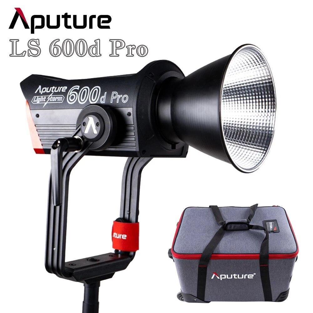 Aputure LS 600d إضاءة احترافية العاصفة الخامس جبل 600 واط 600 برو المهنية فيديو مصباح صور ضوء النهار مصباح ليد