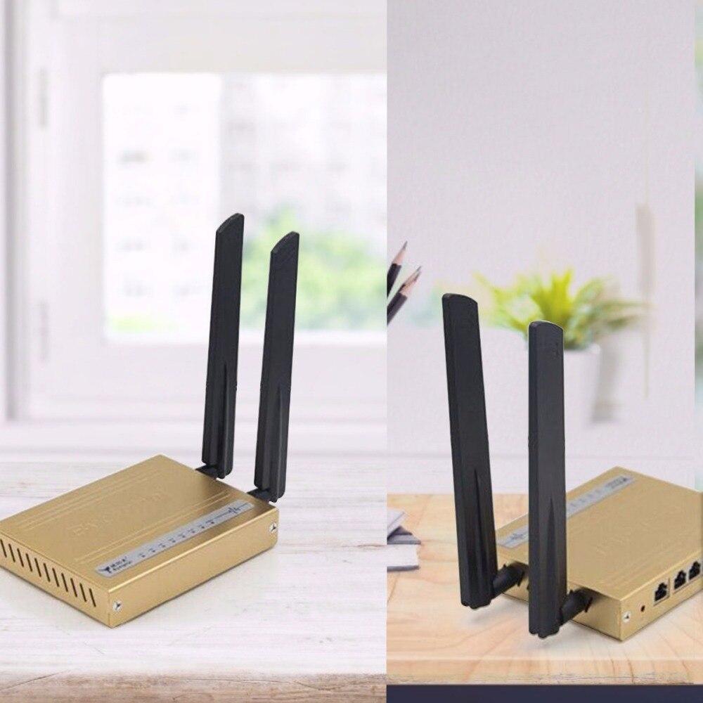 Nueva Mini antena WiFi 2,4 GHz 12dbi Max Aerial RP SMA hembra conector de antenas Universal inalámbrico WLAN Router Boost Signal