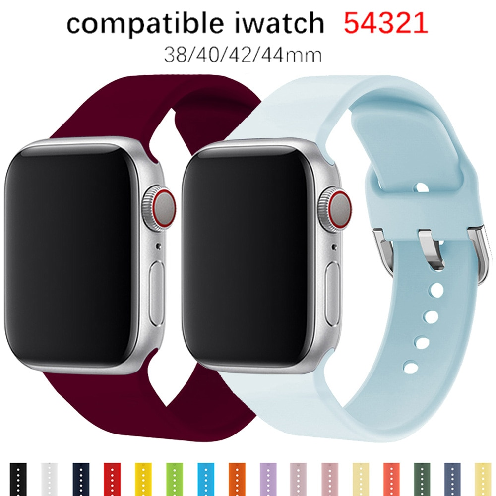 Strap For Apple Watch band 44mm 40mm for iwatch Bracelet series 5 4 3 2 1 42mm 38mm correa pulseira