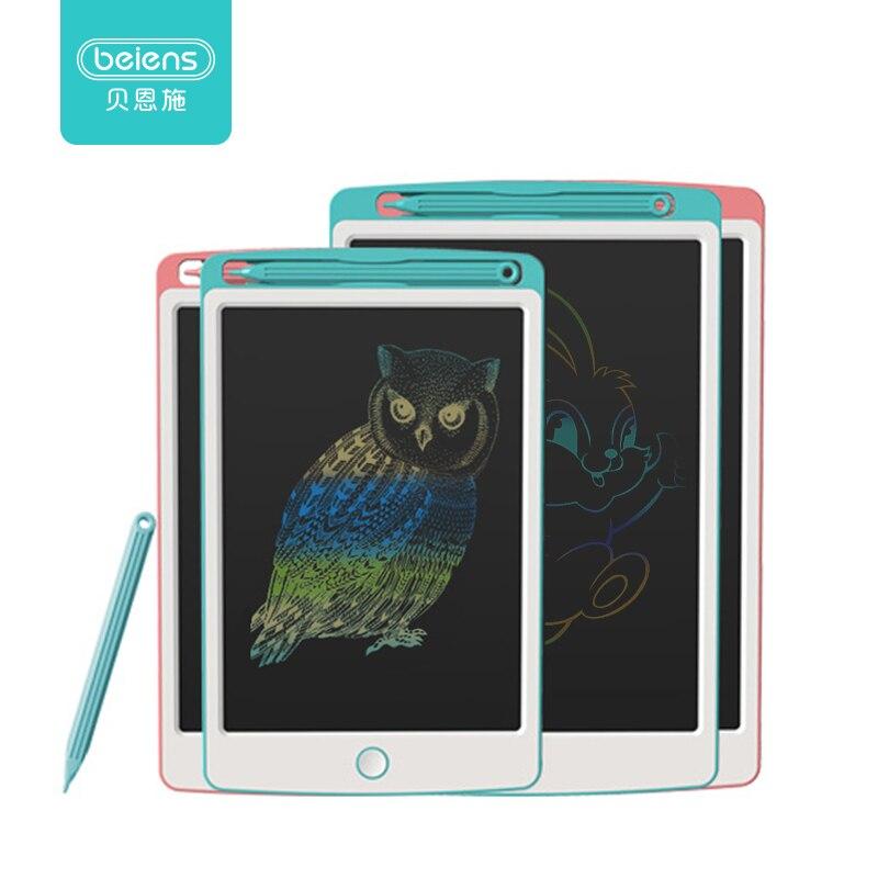 Beiens dessin jouets 8.5/10 pouces LCD planche à dessin Ultra-mince écriture tablette électronique écriture Pad coloré écran conseil