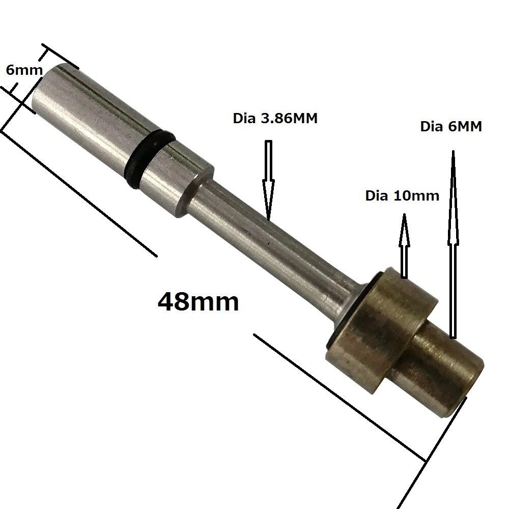 1 шт., аксессуары для воздушного клапана PCP, стержень клапана, диаметр стержня трубки 3 мм/6 мм для PCP Condor, клапан высокого давления
