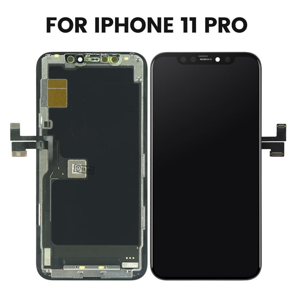 High Quality For iPhone X  11 11Pro  11Pro Max LCD With 3D Touch Digitizer Assembly LCD Screen Replacement enlarge