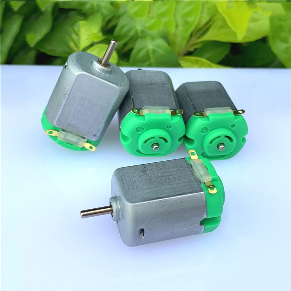 Mini 130 Motor DC 3V-6V 30000RPM High Speed Strong Magnetic Carbon Brush Toy Model Motor DIY Four-wh