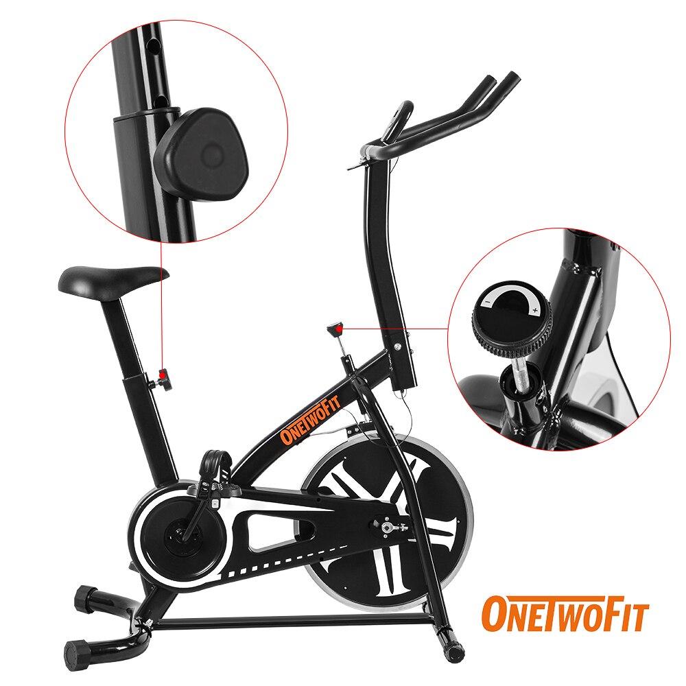 ONETWOFIT casa Fitness apartamento bicicleta estática Bicicletas formación bicicleta estática para interiores de equipos de gimnasio Cyclette Bicicletas Estaticas