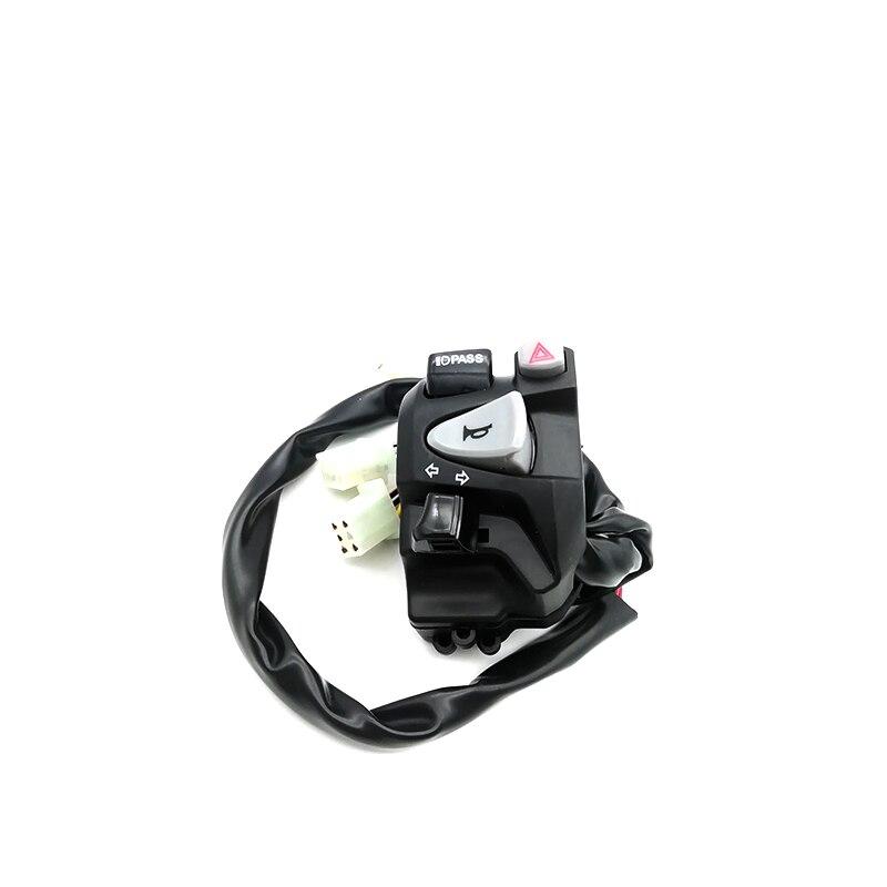 """Motocicleta interruptor Control manillar Faro de cláxon, de intermitente interruptor para 7/8 """", 22mm"""