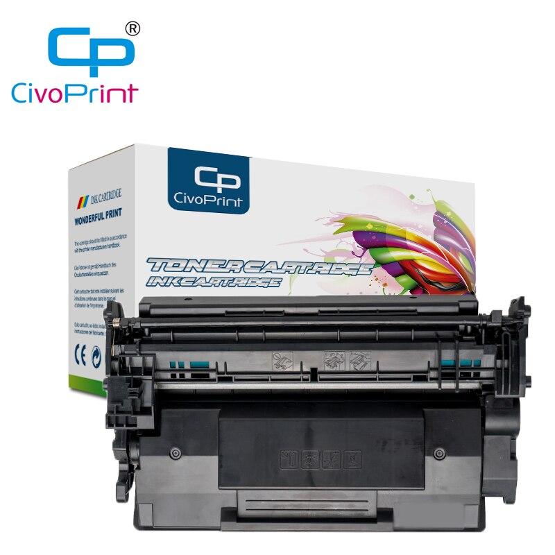 Civoprint CF289A 89A cartucho de tóner Compatible para HP LaserJet Enterprise M507n M507dn M507x 507dng MFP M528dn(no chip)
