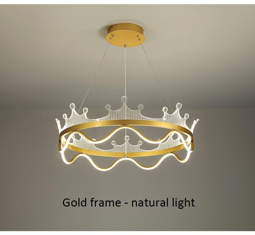 Золотой блеск светодиодный Люстра для Декор в гостиную огни Спальня Обеденная Кухня висящий канделяр домашние люстры