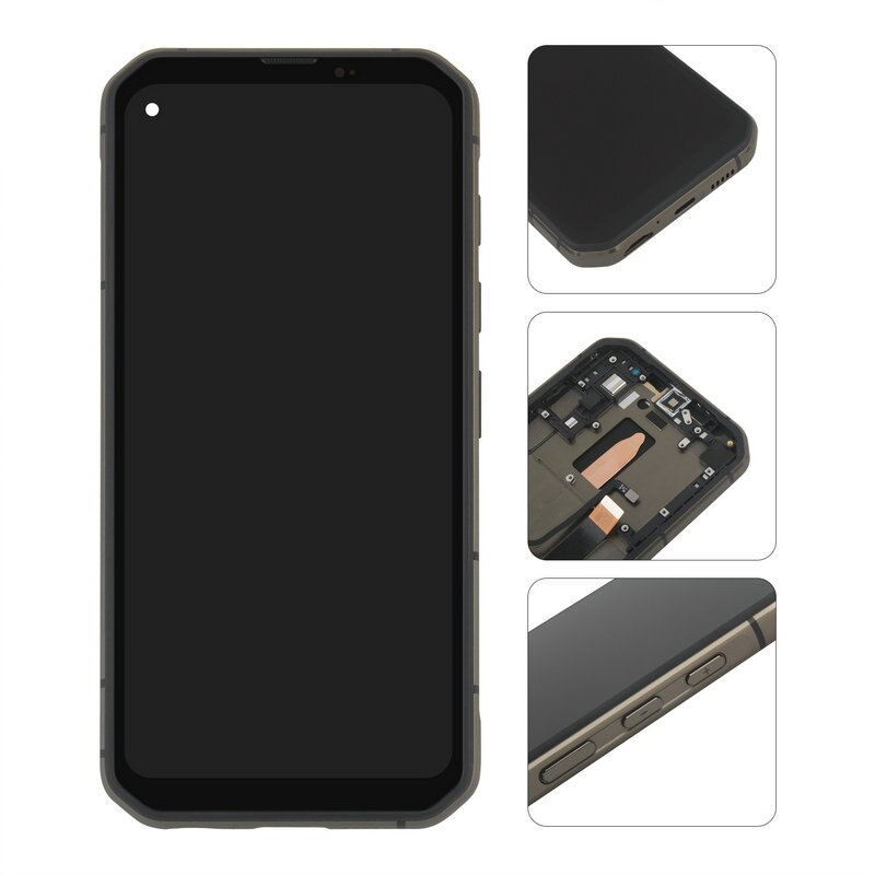 For Blackview BL6000 Pro LCD Display Touch Screen Earpiece Volume Power Button Flex Cable Frame Mobile Phone Repair Parts enlarge