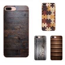 Wooden Wood TPU Mobile Shell For HTC Desire 530 626 628 630 816 820 830 One A9 M7 M8 M9 M10 E9 U11 U12 Life Plus