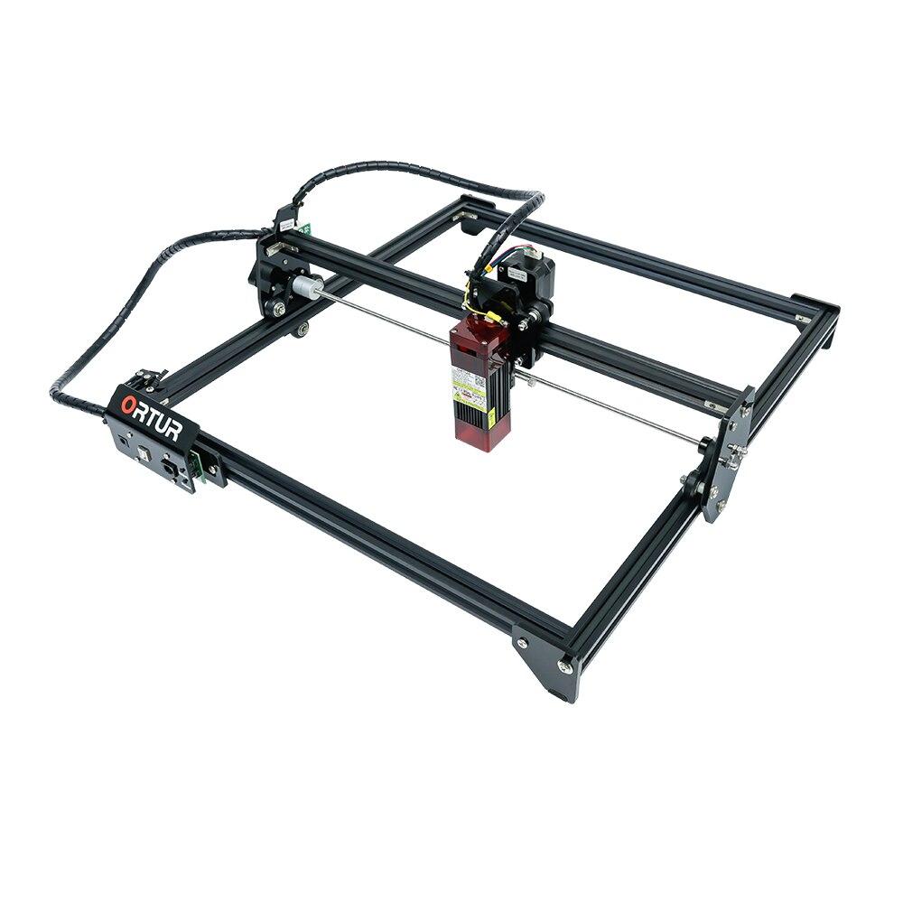 جديد أورتور LU2-4 20 واط ماكينة الحفر بالليزر سطح المكتب لتقوم بها بنفسك الليزر حفارة فاك الليزر الثابتة التركيز وحدة جديدة تصميم حماية العين