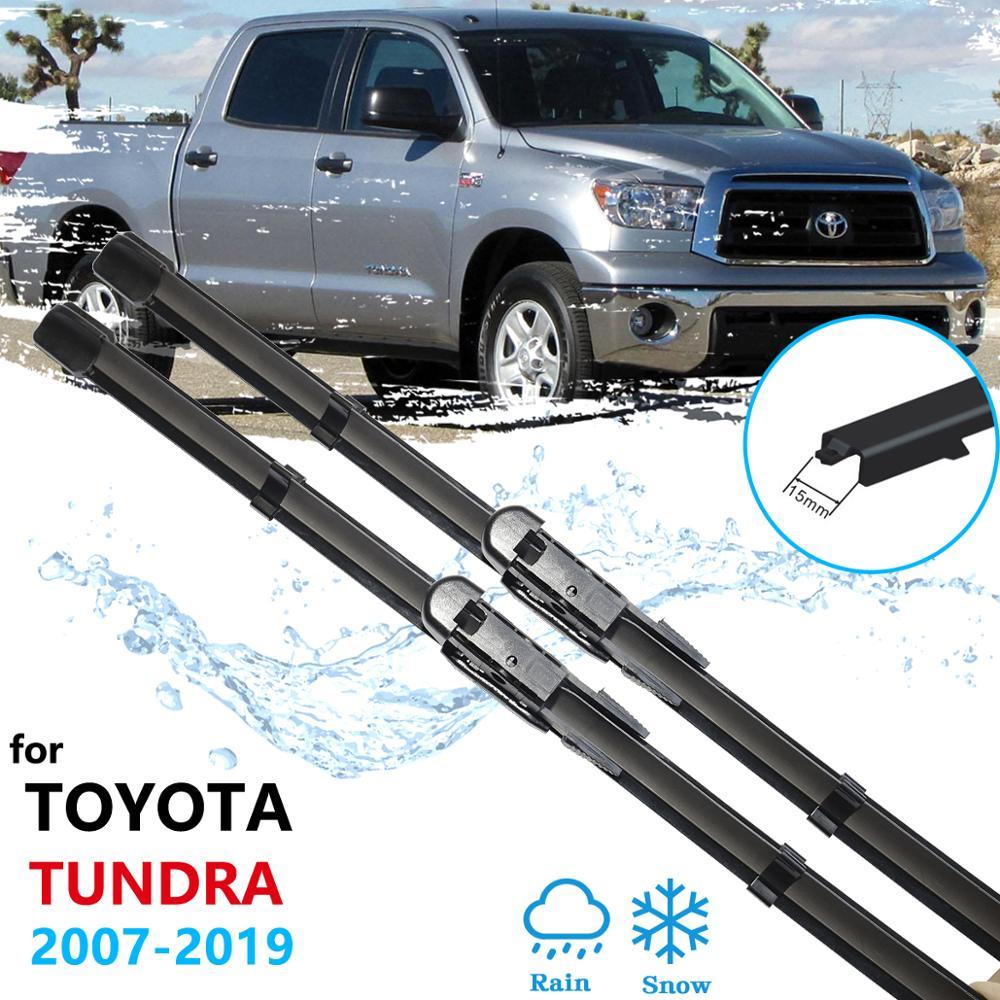 Auto Wischer Klinge für Toyota Tundra Sequoia 2007 ~ 2019 XK50 Windschutzscheibe Scheibenwischer Auto Zubehör 2008 2009 2010 2011 2012