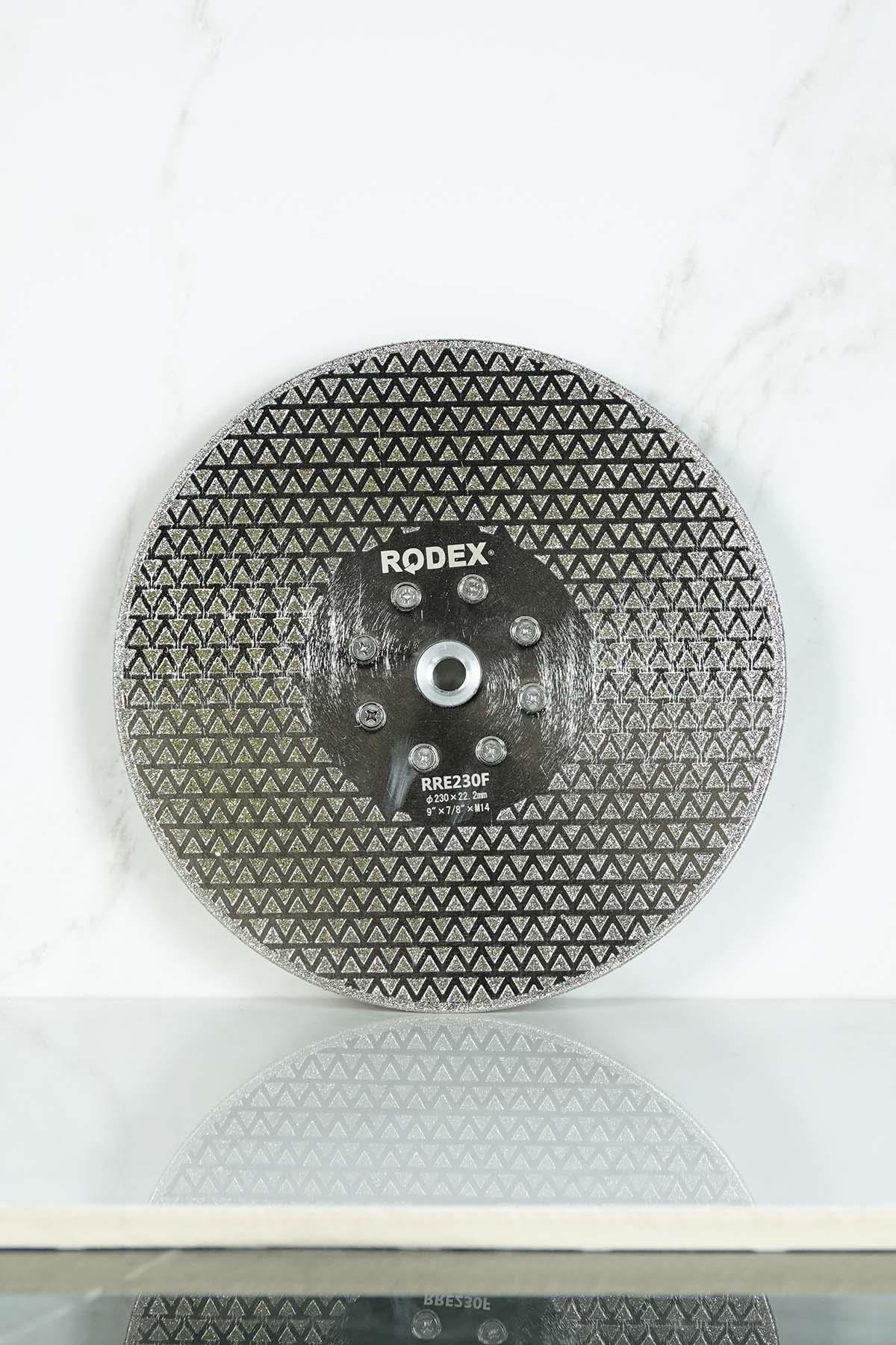 Rodex RRE230F Flanged Diamond Saw Blade for Marble, Granite, Porcelain 230mm