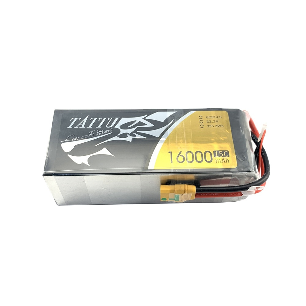 ACE TATTU 6S1P  16000mAh 15C 20C 22.2V Lipo Battery With XT90S Female Plug for Agricultural UAV Drone accessory lipo Battery enlarge