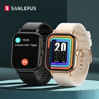 Новинка 2021, Смарт-часы SANLEPUS для мужчин и женщин, Смарт-часы с набором звонков, Водонепроницаемый Фитнес-браслет IP68 для Android, Apple, Xiaomi