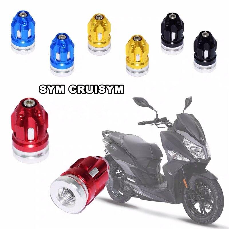 Аксессуары для мотоциклов колпачки для колесных шин крышки для SYM CRUiSYM JOYMAX Z 125/250/300 MAXSYM 400i 600i TL500 GTS 300i T2 T3