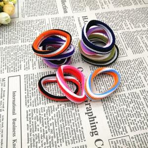100pcs Women's Hair Circle Simple Seamless Trend Hair Rope Hair Accessories High Elastic Color Fashion Accessories