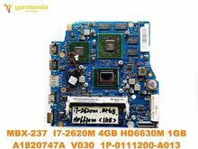 소니 MBX-237 노트북 마더 보드 13.3 MBX-237 I7-2620M 4GB HD6630M 1GB A1820747A V030 1P-0111200-A013 테스트