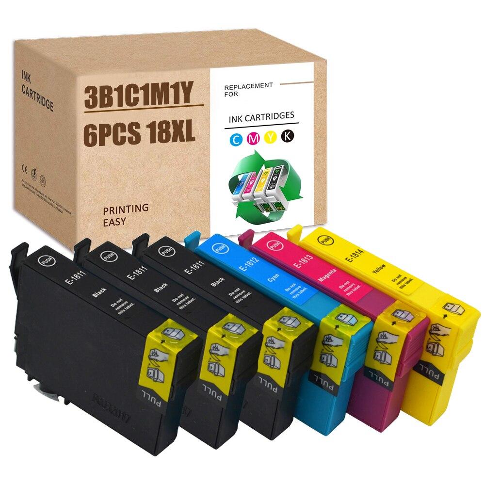 Для печатающей головки Epson 18XL 18 XL T1811 T1812 T1813 T1814 XP-425 XP-422 XP-415 XP-412 XP-325 XP-322 XP-312 XP-302 XP-402 XP-405 XP30 XP102