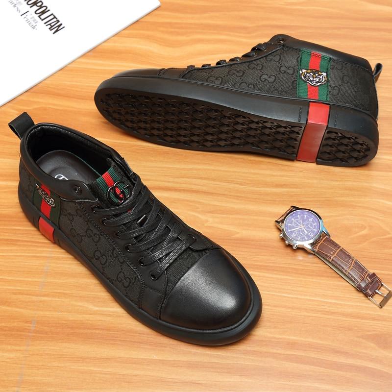 High Top Men Casual Shoes Sneakers for Men Comfortable Outdoor Non-slip Couple Casual Shoes Light Ou
