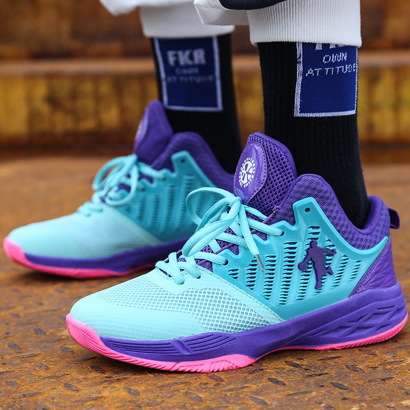 High Top Colorful Couple Sneakers Men Protect Ankle Basketball Shoes For Male Sports Trainers Jordan